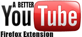 YouTube Firefox extension