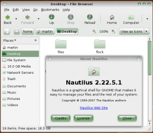 Nautilus gOS Look