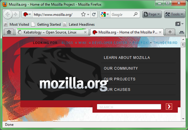 Firefox 3.7 Looks with Fx4