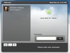 Linux Mint 15 - MDM