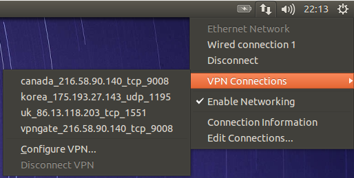 Ubuntu Network Manager